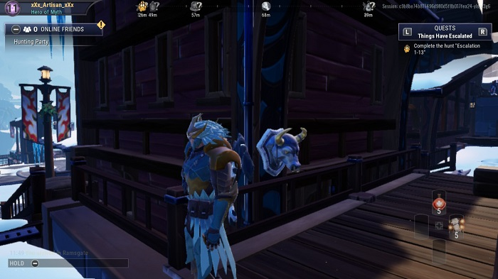 The thirsd bust you see in Dauntless.
