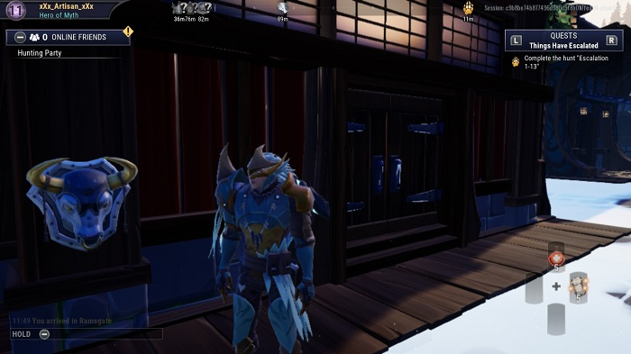 The fourth bust you see in Dauntless.