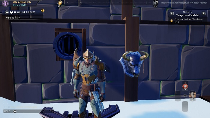 The fifth bust you see in Dauntless.