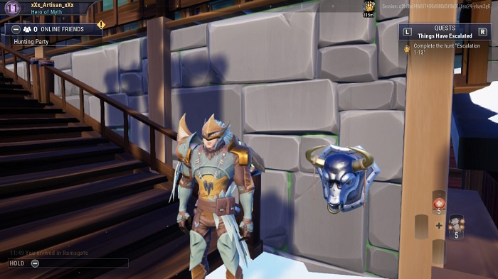 The sixth bust you see in Dauntless.