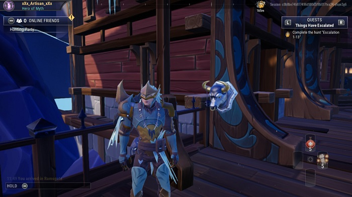 The eighth bust you see in Dauntless.