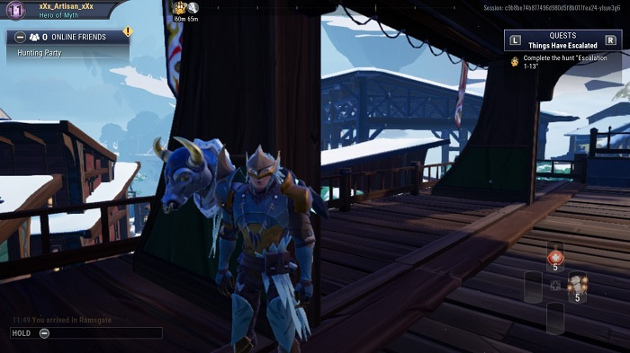 The ninth bust you see in Dauntless.