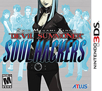 Shin Megami Tensei: Devil Summoner: Soul Hackers 3DS Game Box Cover Art