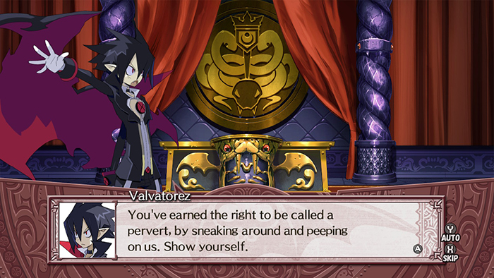 Disgaea 4 Complete+ Peeping Comment