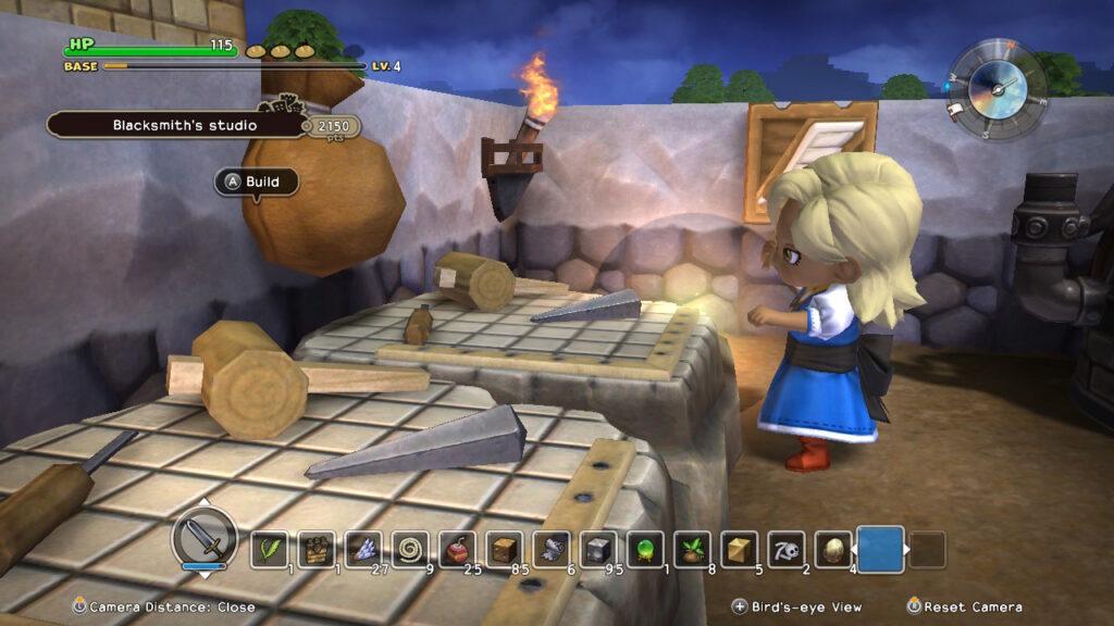 Dragon Quest Builders Townie Building