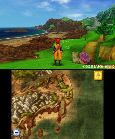 Dragon Quest Map