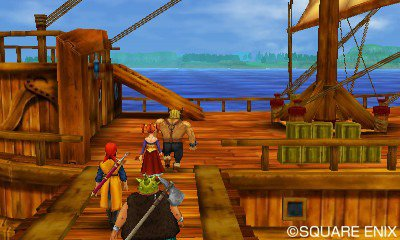 Dragon Quest Pirate Ship