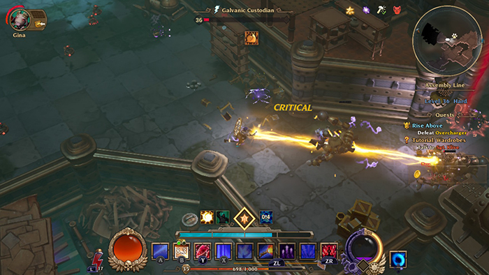 Dusk Mage Gameplay in Torchlight III