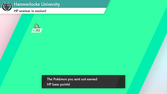 EV training through Poke Jobs in Pokemon Sword and Shield