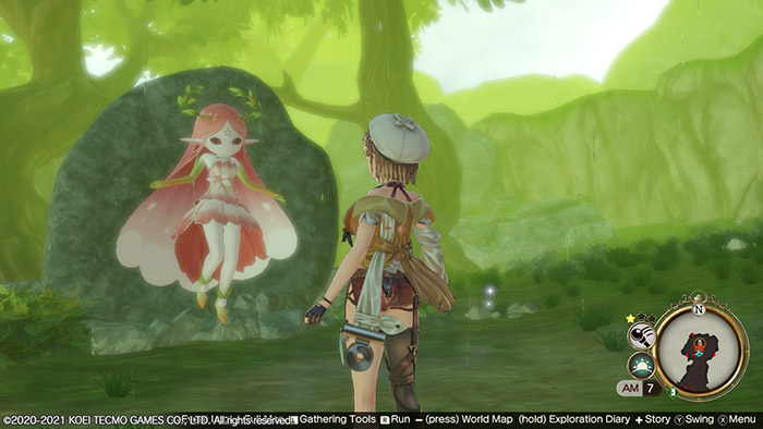 Elder Fairy in Atelier Ryza 2: Lost Legends & the Secret Fairy
