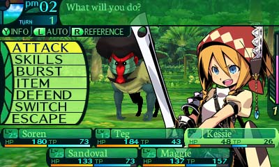 Etrian Odyssey IV: Legends of the Titan gameplay