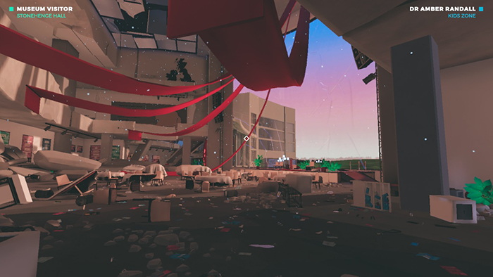 Event Hall aftermath in Bradwell Conspiracy