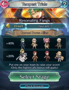 Choosing a team - Tempest Trials