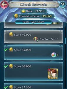 Rewards in Tempest Trials
