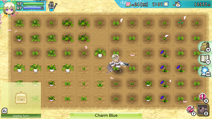 Farming in Rune Factory 4 Special