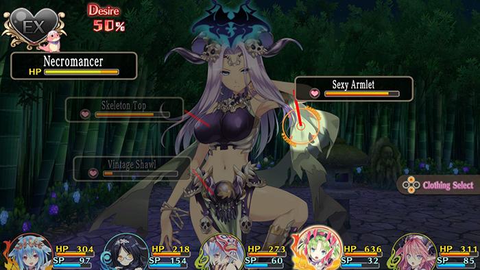 Fighting a Monster Girl in Moero Crystal H