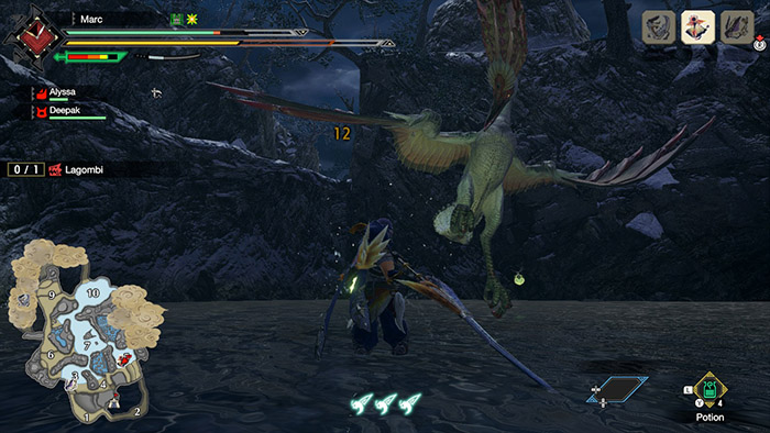 Monster Hunter Rise Combat