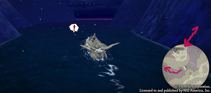 Finding Penguin Cave in The Alliance Alive HD Remastered