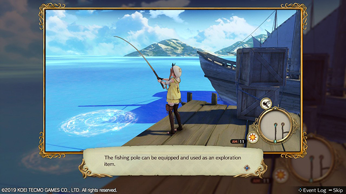 Fishing in Atelier Ryza: Ever Darkness & the Secret Hideout