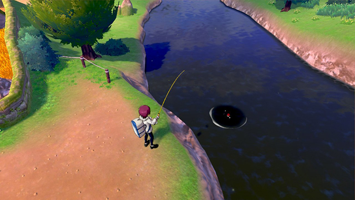 Fishing in Pokemon Sword and Shield
