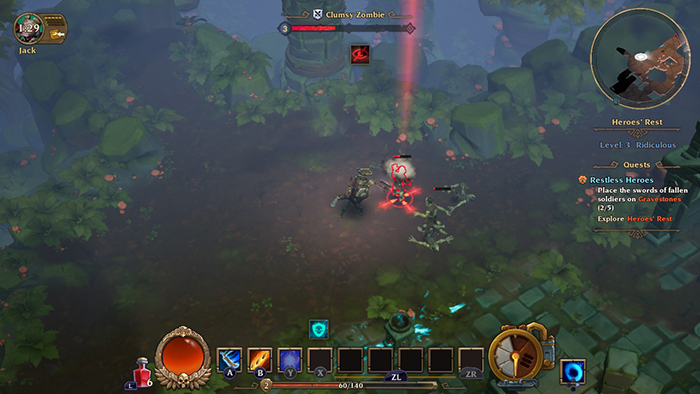 Forged Gameplay in Torchlight 3