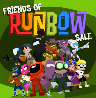 Buy Runbow and Get 30% Off Select 3DS/Wii U Games