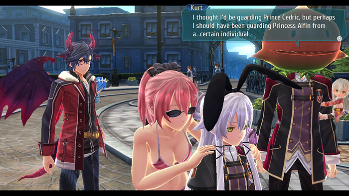 Misunderstanding cutscene in The Legend of Heroes: Trails of Cold Steel III