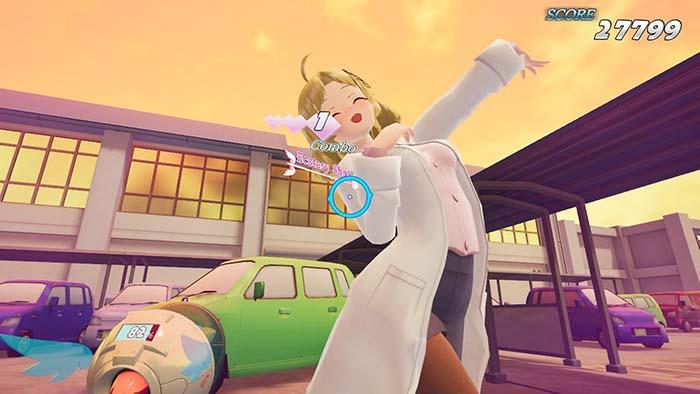 Gal Gun 2 Gameplay (Nintendo SWitch)