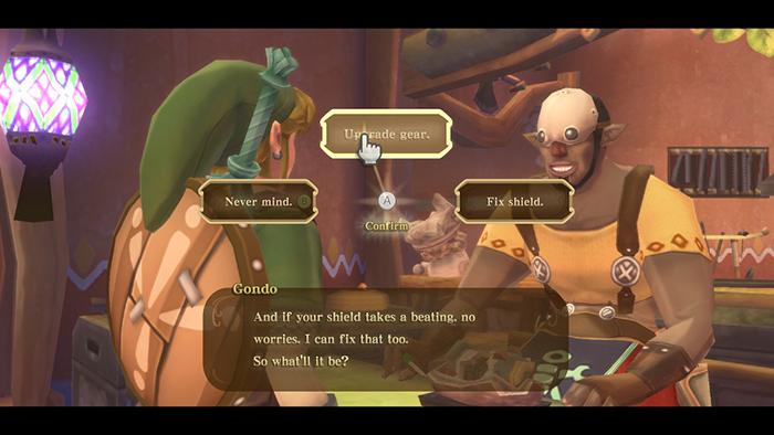 Gear Upgrades in The Legend of Zelda: Skyward Sword HD