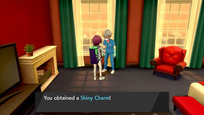 Getting the shiny charm in Pokemon Sword/Shield
