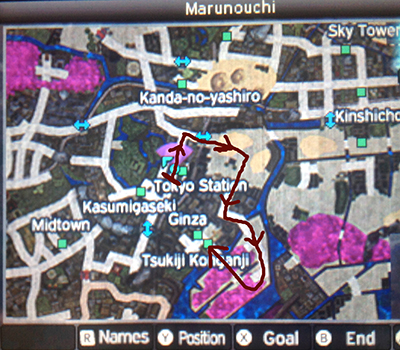 Getting to Tsukiji Konganji in Shin Megami Tensei IV: Apocalypse