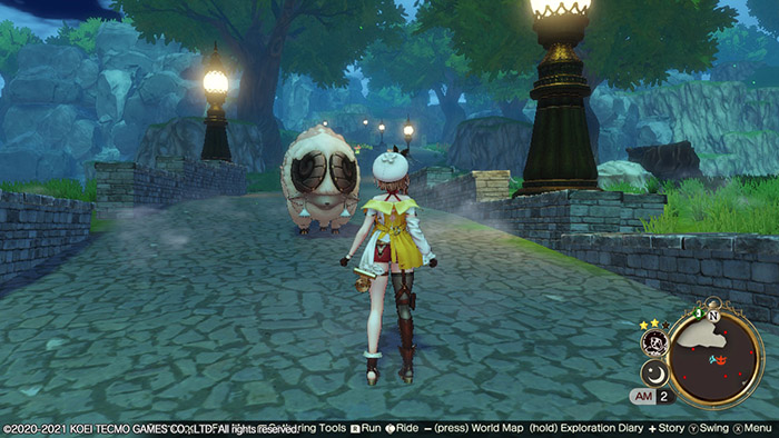 Giant Sheep in Atelier Ryza 2 Lost Legends & the Secret Fairy
