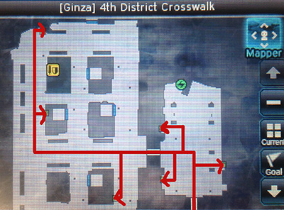 Ginza 4th District Crosswalk