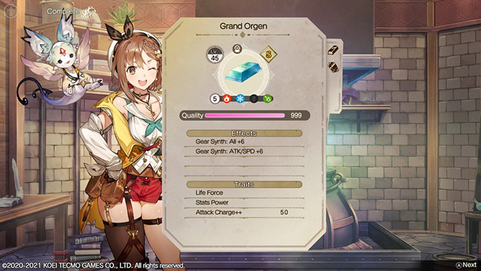 Grand Orgen in Atelier Ryza 2: Lost Legends & the Secret Fairy