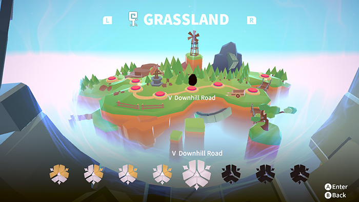 Grassland Region in QV (Nintendo Switch Game)