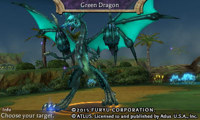 Green Dragon in The Legend of Legacy