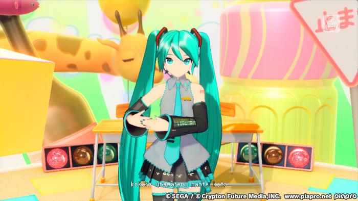 Hatsune Miku in Hatsune Miku: Project DIVA Mega Mix