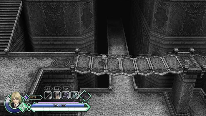 Hidden passageways in Ys Origin