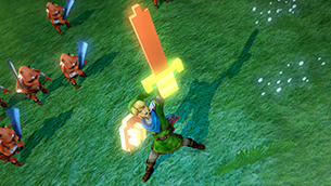 Hyrule Warriors 8-bit sword and shield