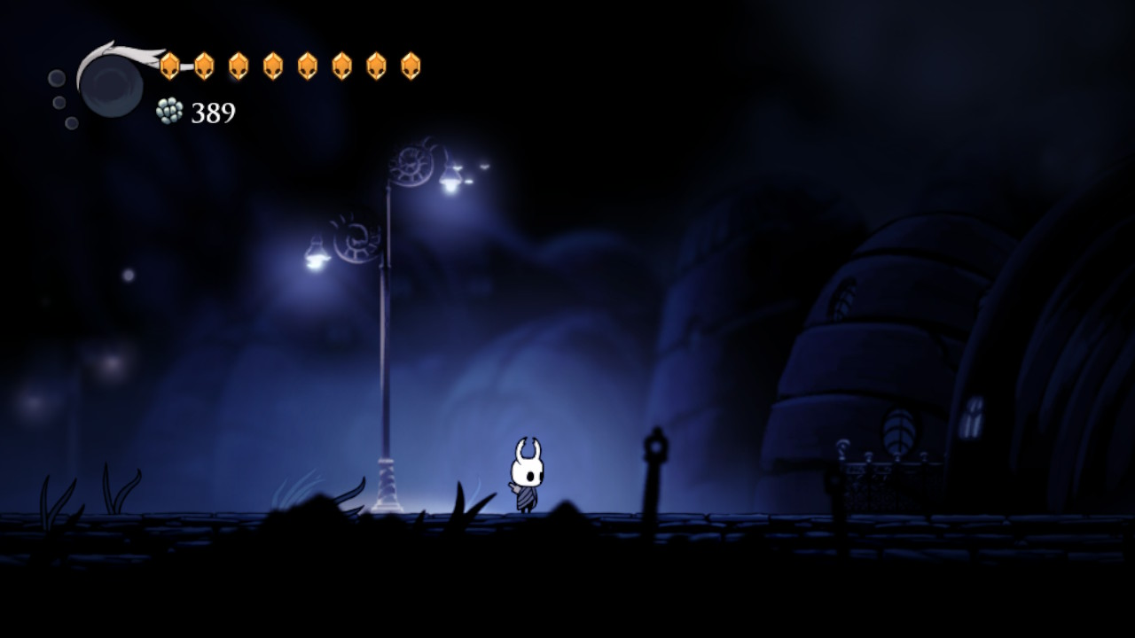 Hollow Knight Gameplay on the Nintendo Switch