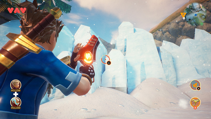 Gun in Oceanhorn 2: Knights of the Lost Realm