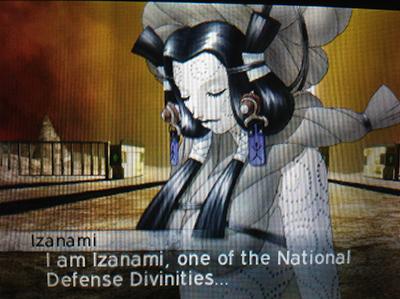 Izanami in Shin Megami Tensei IV: Apocalypse
