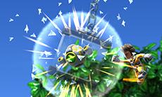 Jett Rocket II: The Wrath of Taikai Gameplay