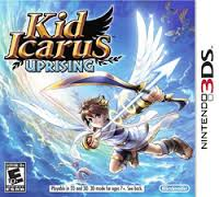 Kid Icarus: Uprising 3DS Game Box Cover Art