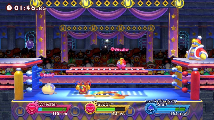 Stages in Kirby Fighters 2