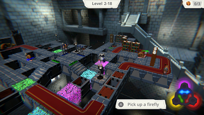 An example of the levels that exist in Lanternium.