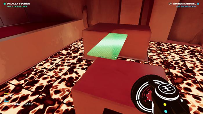 Lava floor platforms in Bradwell Conspiracy