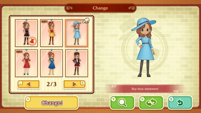 Layton Mystery Journey Outfit
