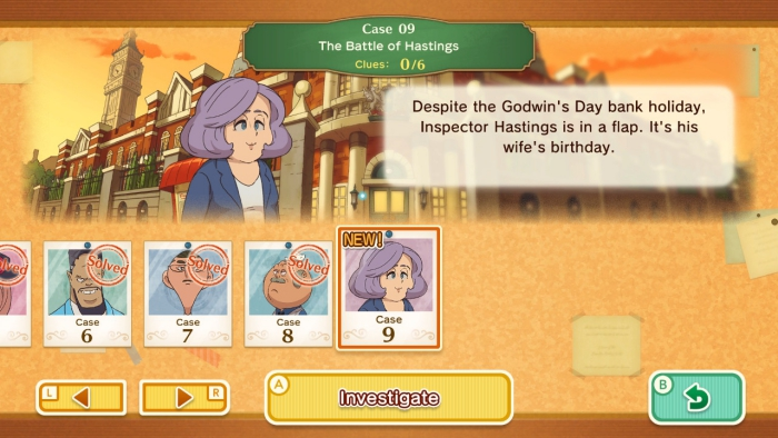 Layton Mystery Journey Replay Case