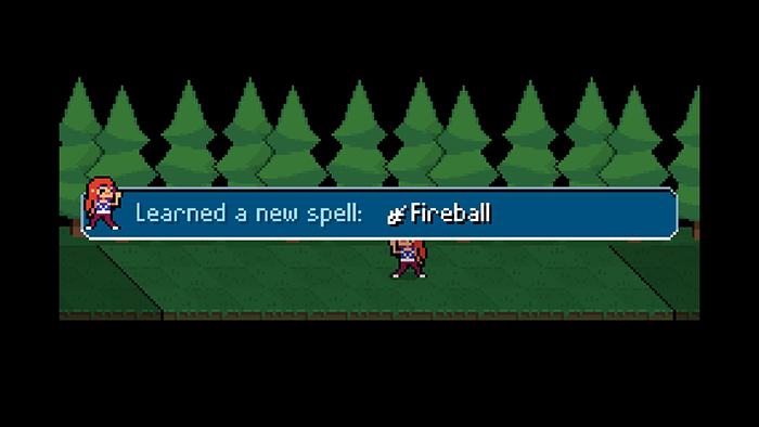 Learning a new spell in Ikenfell